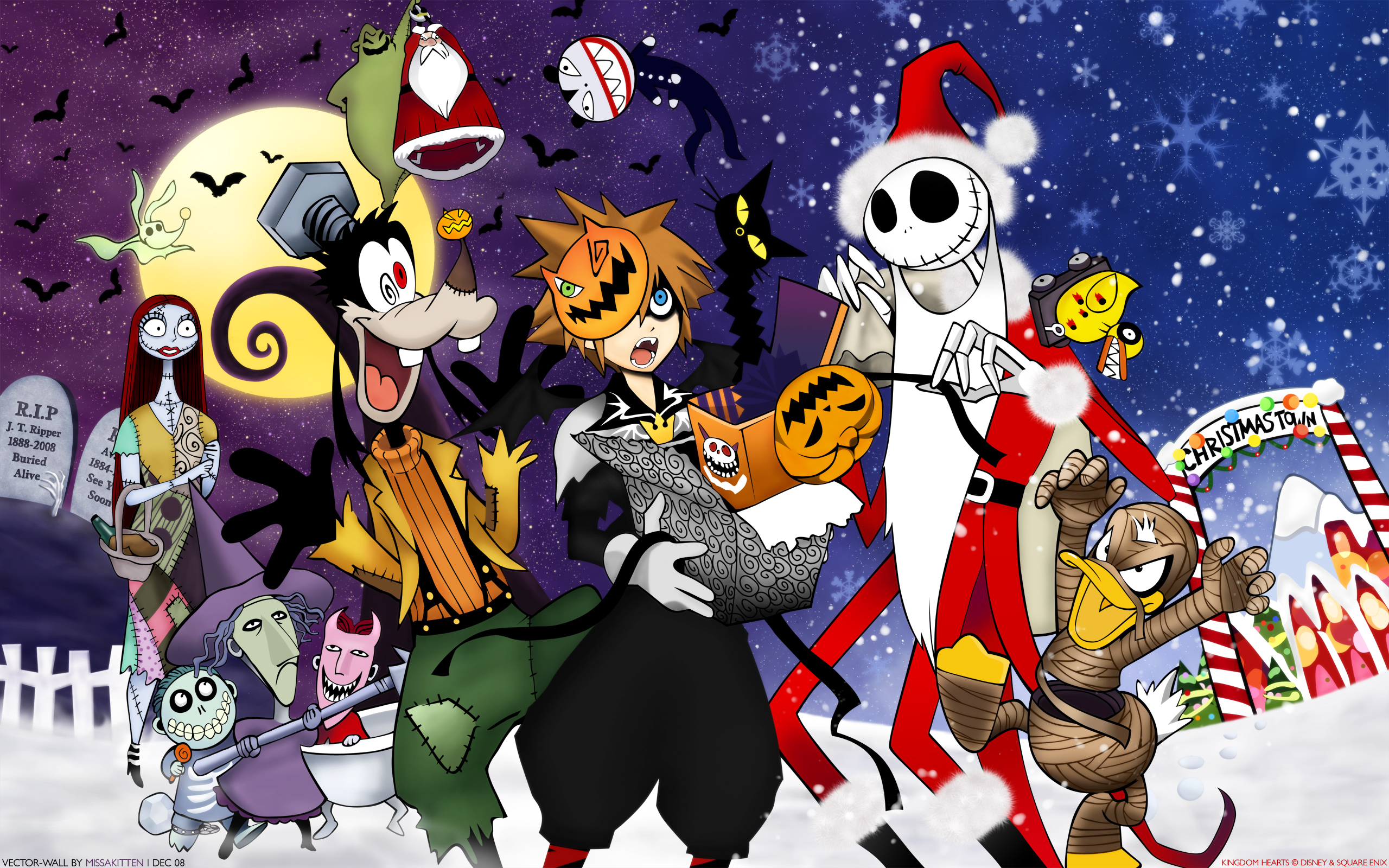 Kingdom Hearts, Halloween, Sora (Kingdom Hearts), Christmas - Free ...
