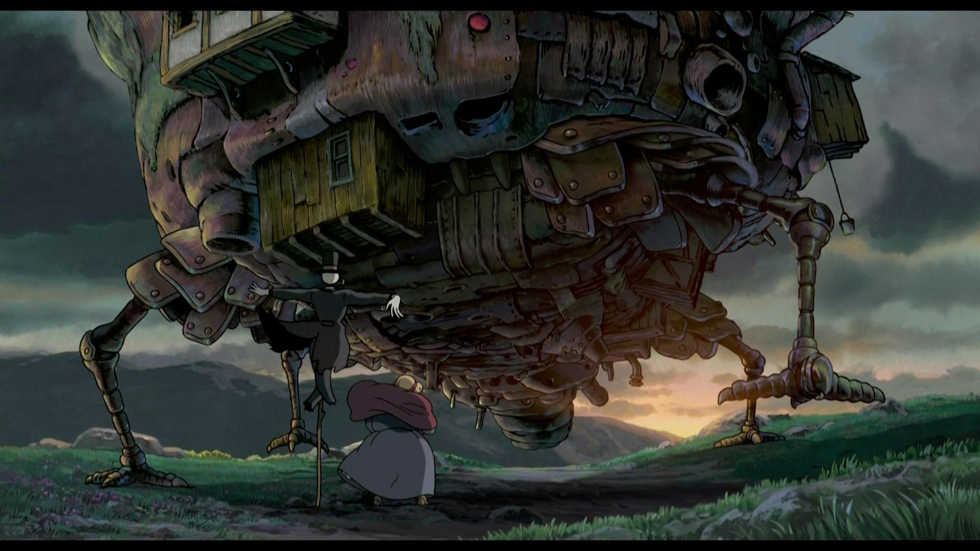 Hayao Miyazaki Studio Ghibli Howls Moving Castle
