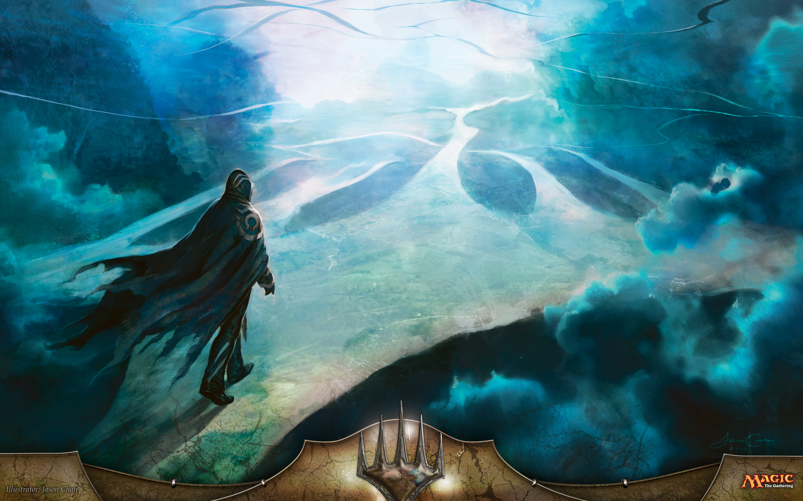 Magic The Gathering Artwork Jace Beleren Jason Chan Free