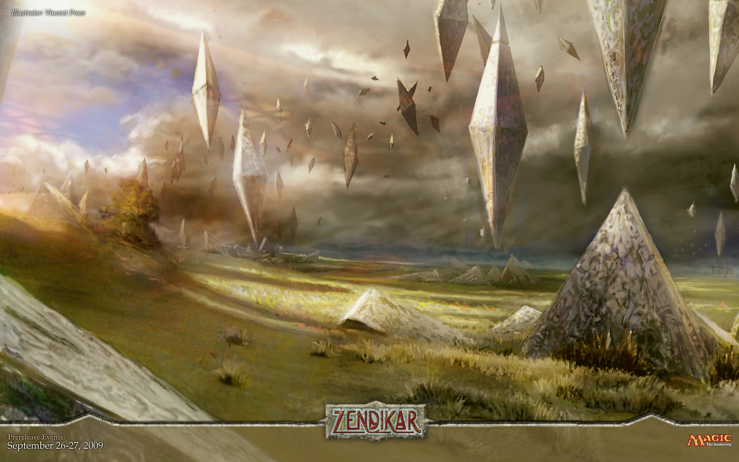Magic The Gathering Magic Zendikar Hedron Free Wallpaper