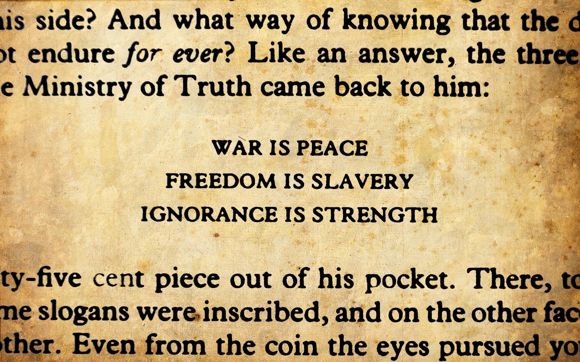 george orwell 1984 essay