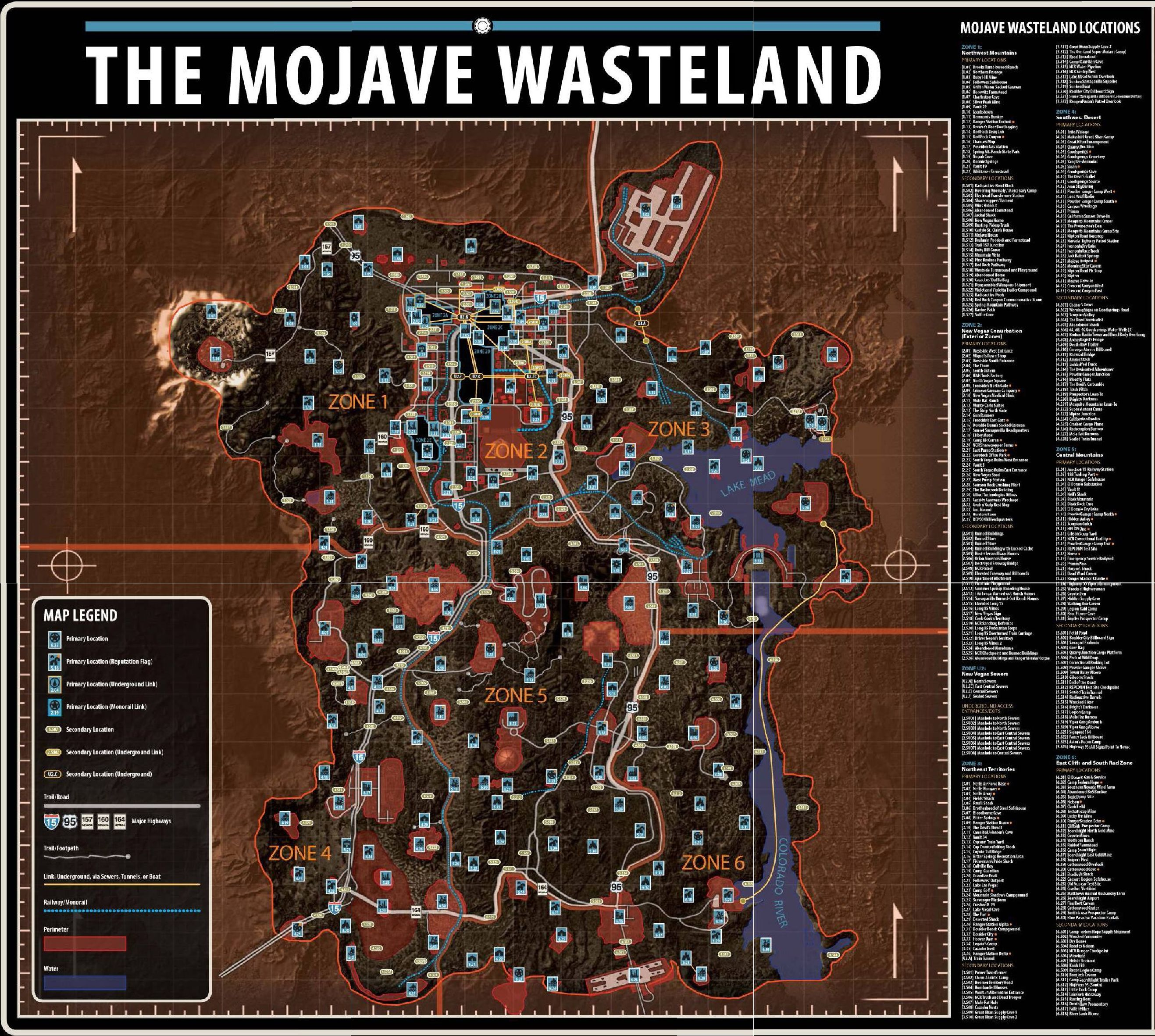 video games, maps, Fallout New Vegas - HD Wallpaper View ...