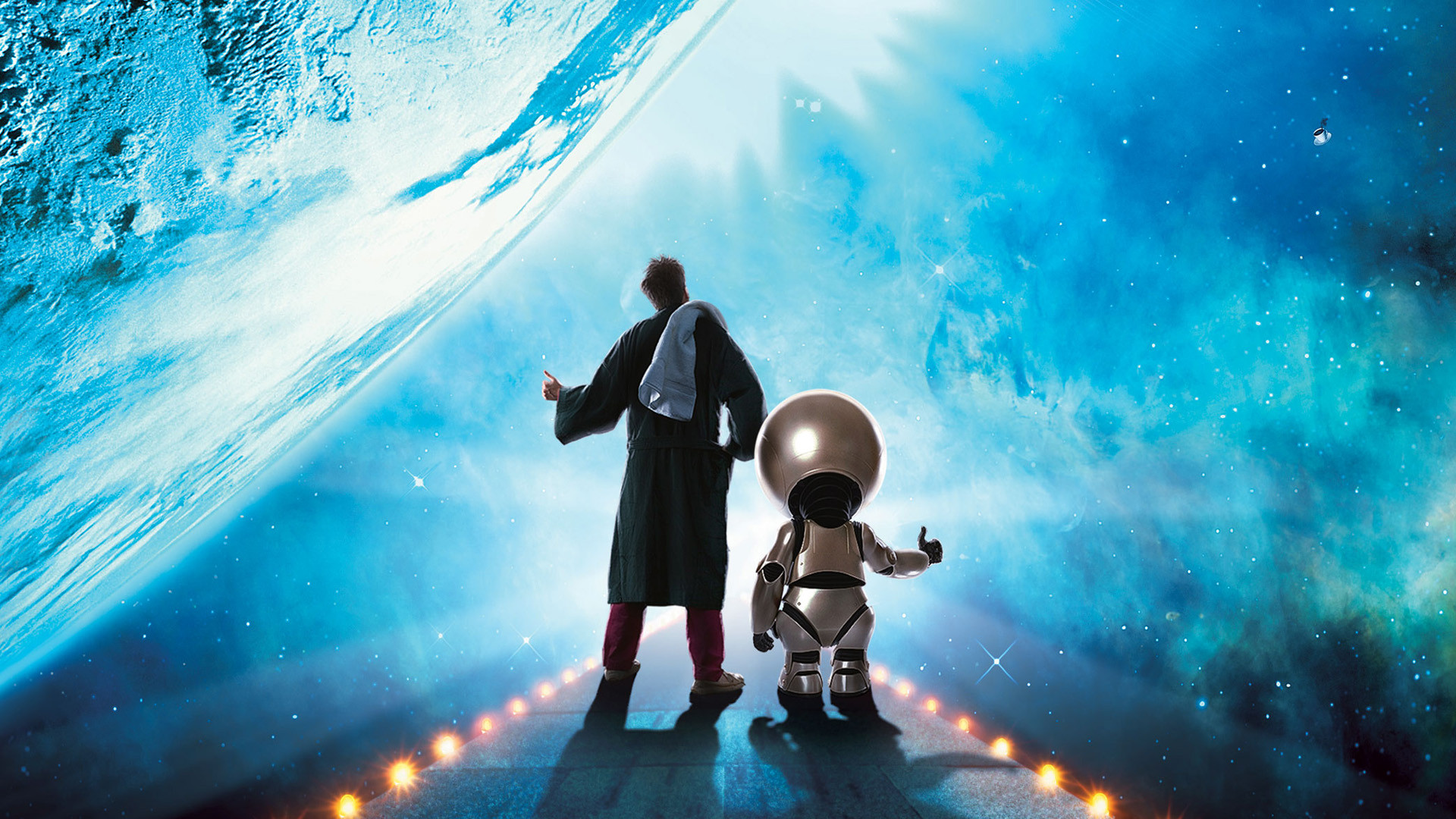 The Hitchhikers Guide To The Galaxy Free Wallpaper
