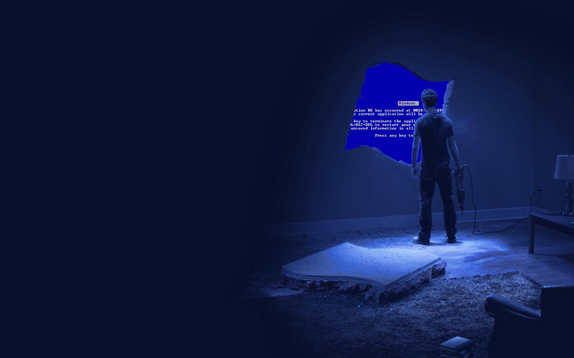 Blue Screen Of Death Free Wallpaper Wallpaperjamcom