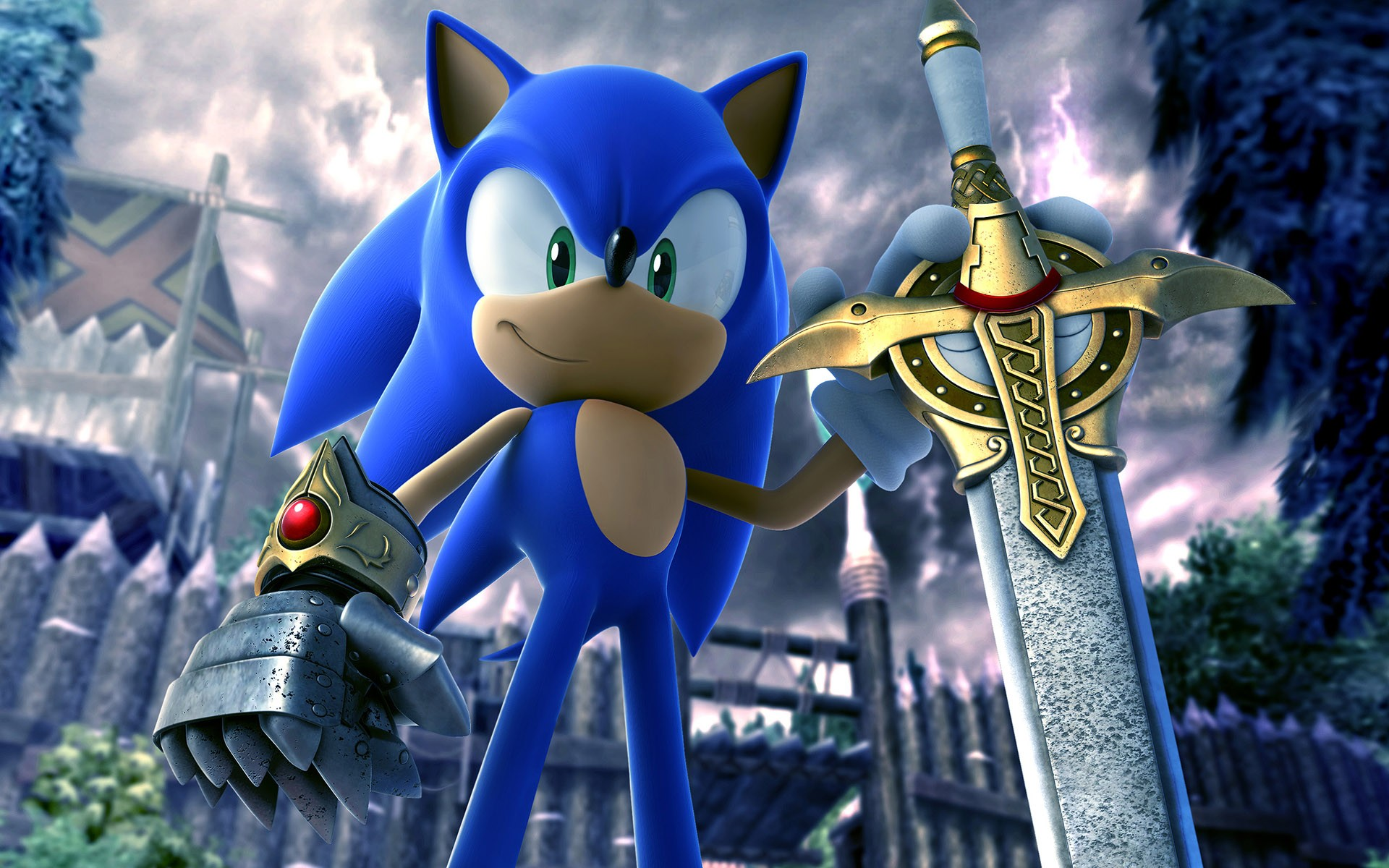 Sonic The Hedgehog Video Games 3D HD Wallpaper View