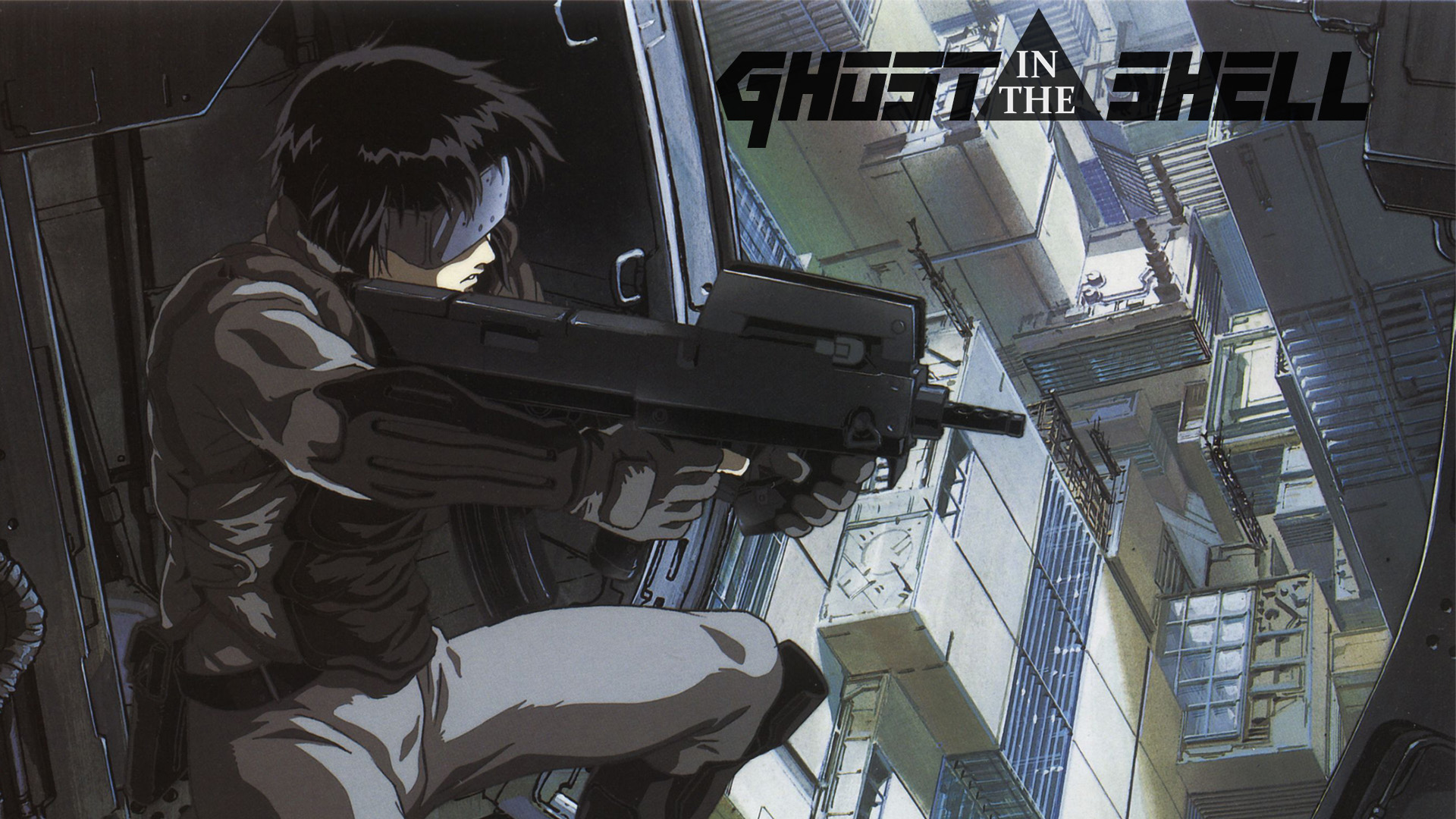 Guns Cityscapes Ghost In The Shell Free Wallpaper