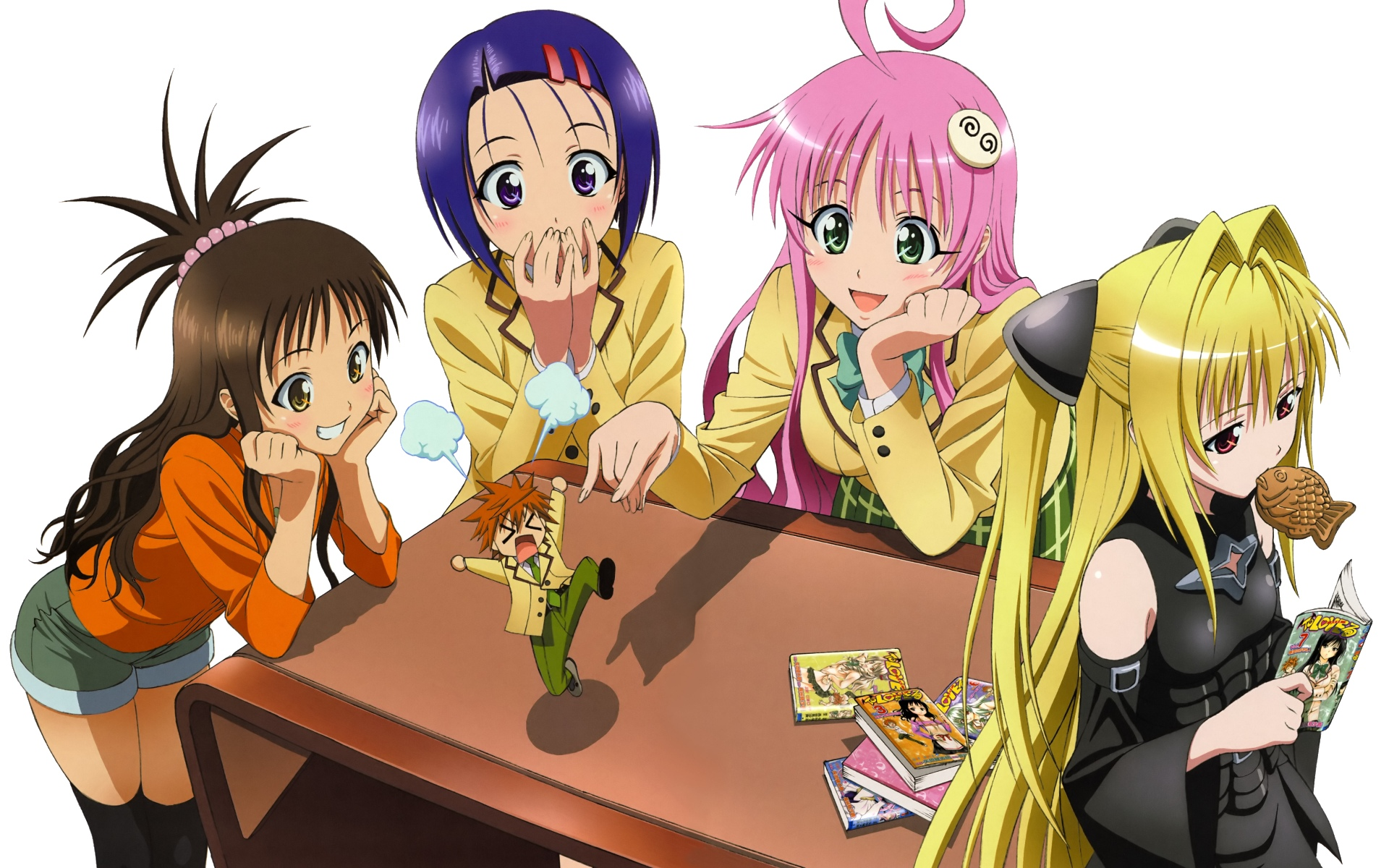 To Love Ru Golden Darkness Sairenji Haruna Lala Satalin