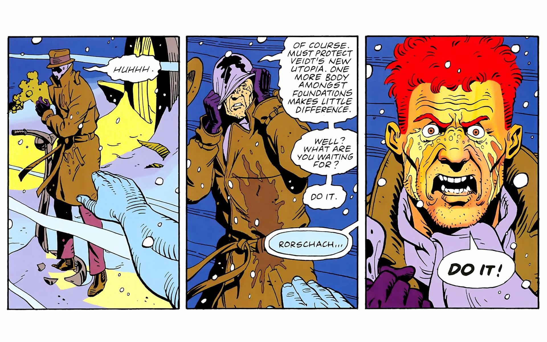 ... Watchmen, Rorschach, Dr. Manhattan - related desktop wallpaper ...