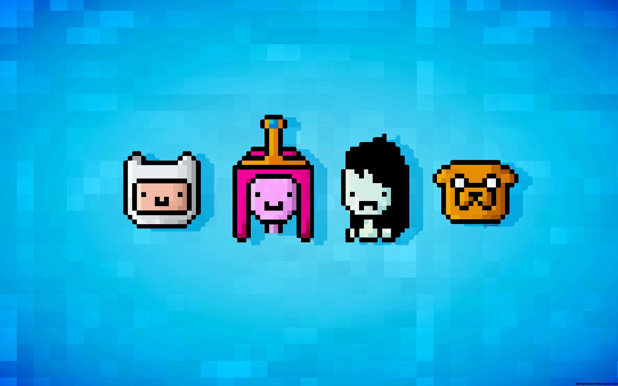 Adventure Time Princess Bubblegum 16 Bit Finn And Jake Free