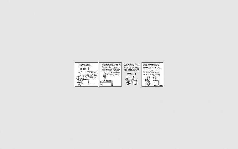 xkcd, funny, stick figures - desktop wallpaper