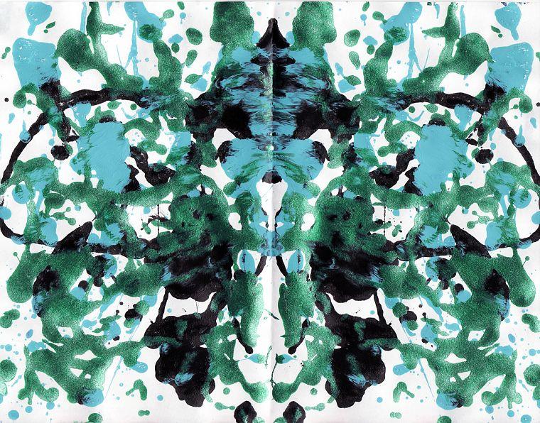 7chan, Rorschach test - desktop wallpaper