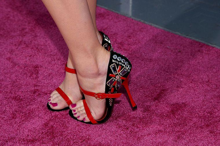 women, feet, Emma Stone, toes, high heels, nail polish - Free ...