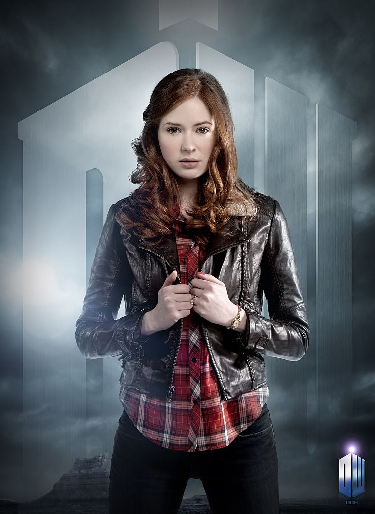 Karen Gillan, Amy Pond, Doctor Who - desktop wallpaper