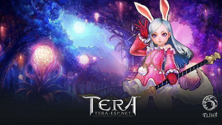 women, priest, Tera, MMORPG, Elin - desktop wallpaper