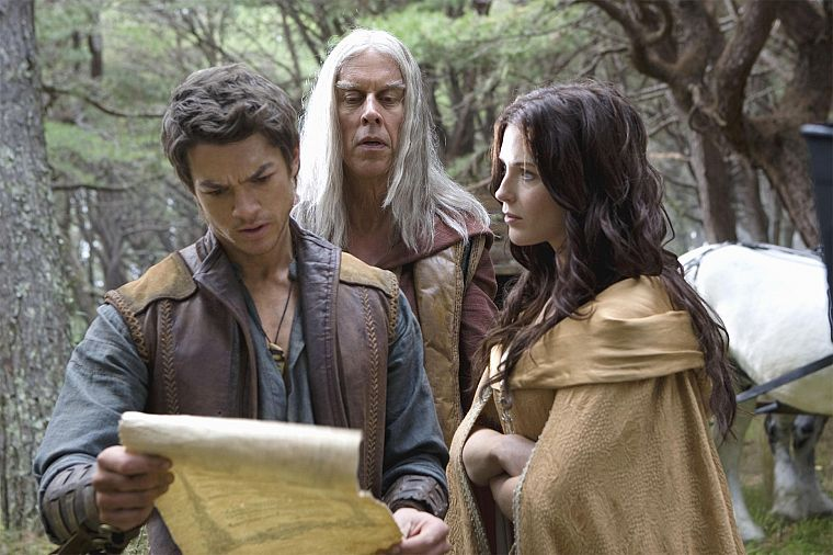 Bridget Regan, Legend Of The Seeker, Craig Horner, Kahlan Amnell, Bruce Spence, Zeddicus Zu'l Zorander, Richard Cypher - desktop wallpaper