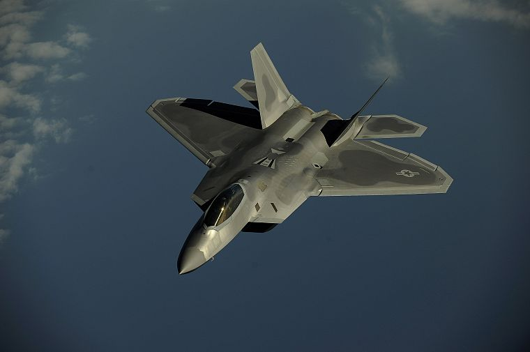 aircraft, F-22 Raptor - desktop wallpaper