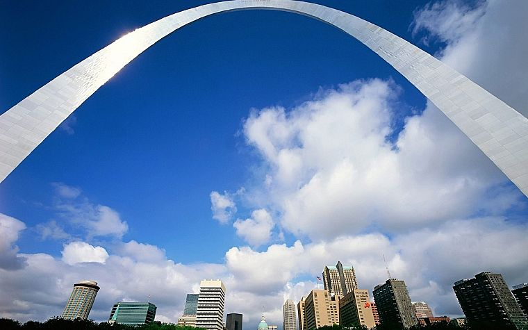 St Louis, St. Louis Arch, cities - desktop wallpaper