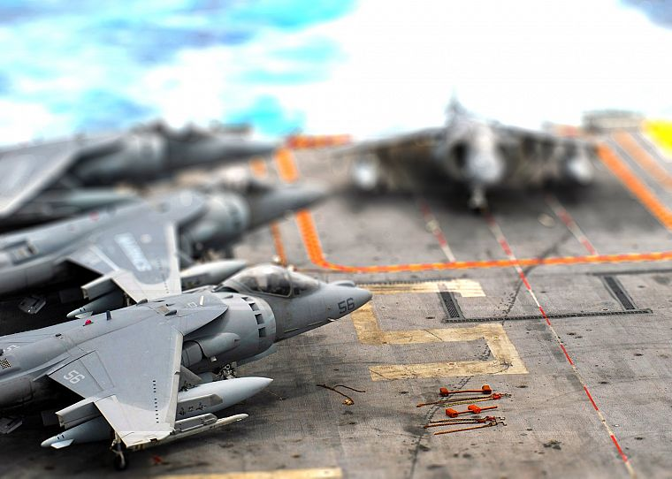 toys (children), tilt-shift, jet aircraft - desktop wallpaper