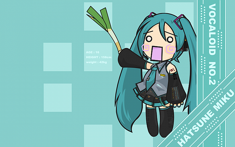 Vocaloid Hatsune Miku Chibi Hachune Detached Sleeves