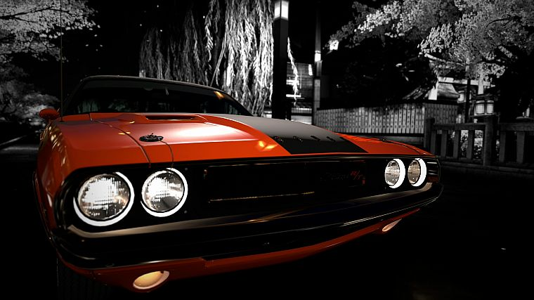Gran Turismo 5, Dodge Challenger R/T - desktop wallpaper
