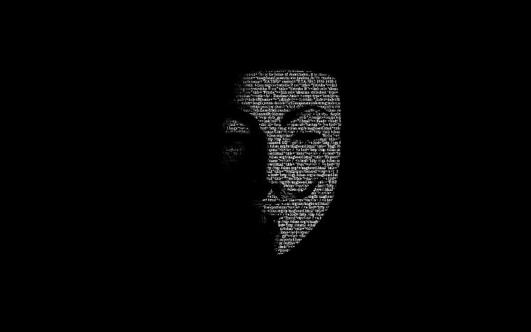 Guy Fawkes, V for Vendetta - desktop wallpaper