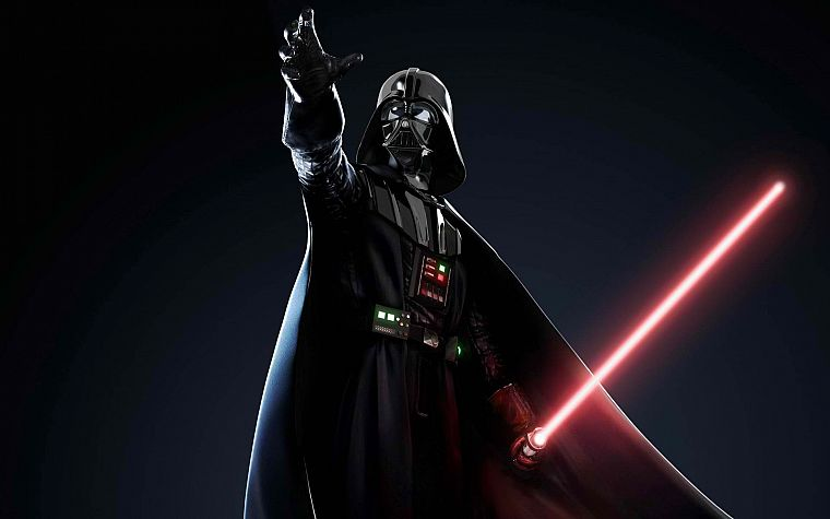 Star Wars, lightsabers, Darth Vader - desktop wallpaper