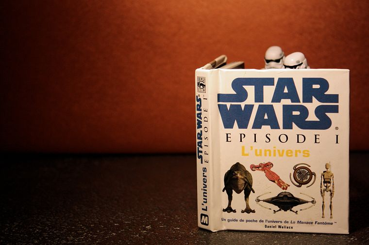 Star Wars, stormtroopers, books, miniature, figurines, action figures, puppets - desktop wallpaper
