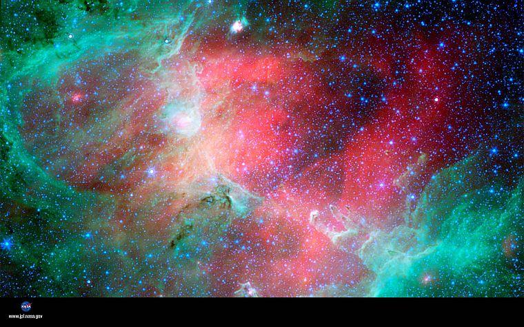 Nebulae Infrared Eagle Nebula