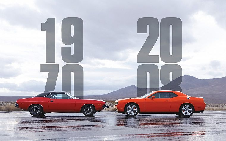 cars, 2008, Dodge Challenger, 1970 - desktop wallpaper