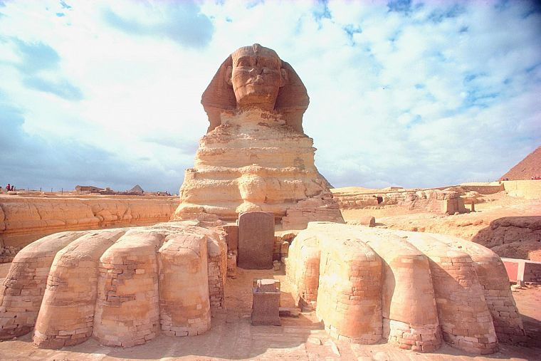 architecture, Egypt, sculptures, sphinx - desktop wallpaper