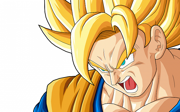 Son Goku, Dragon Ball Z, Super Saiyan - desktop wallpaper