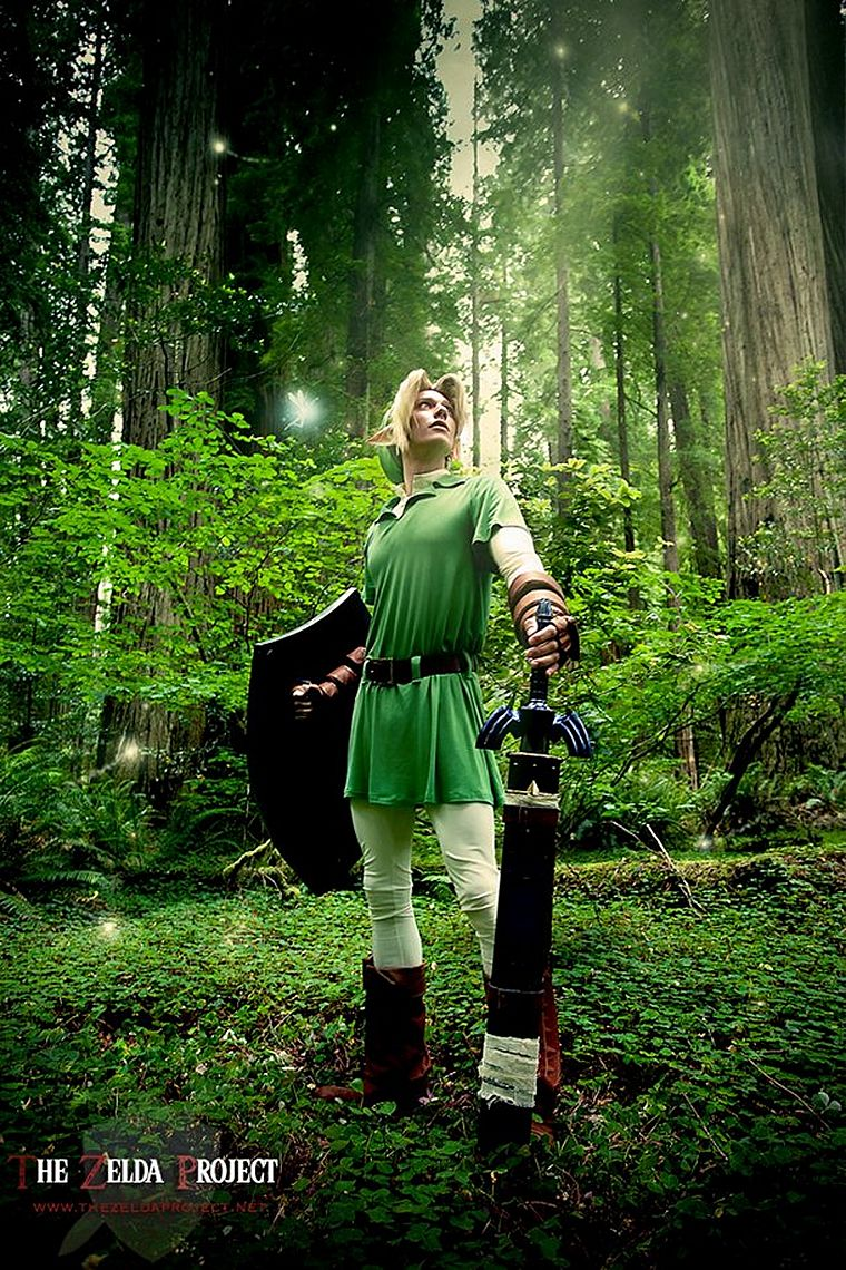 cosplay, Link, The Legend of Zelda - desktop wallpaper