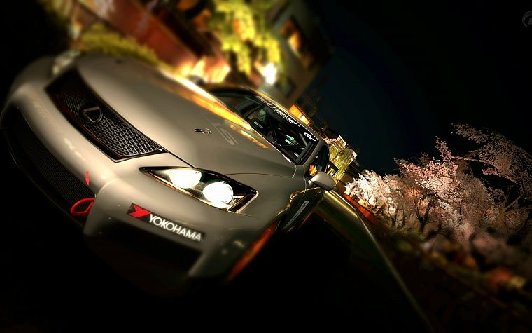 video games, cars, Lexus, Gran Turismo 5 - desktop wallpaper