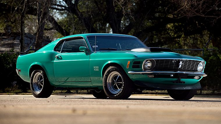 cars, muscle cars, boss, vehicles, Ford Mustang, classic cars - desktop wallpaper