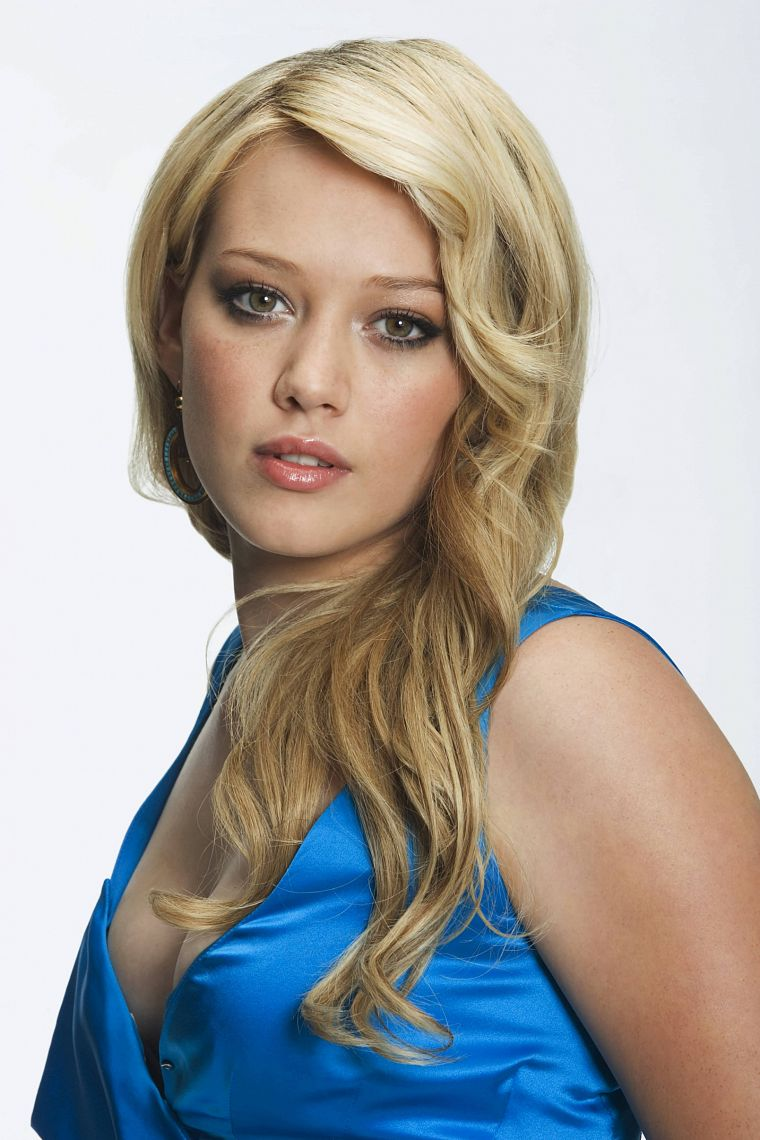blondes, Hilary Duff, celebrity - desktop wallpaper