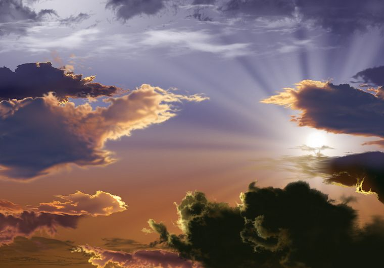 clouds, Sun, sunlight, skyscapes - desktop wallpaper