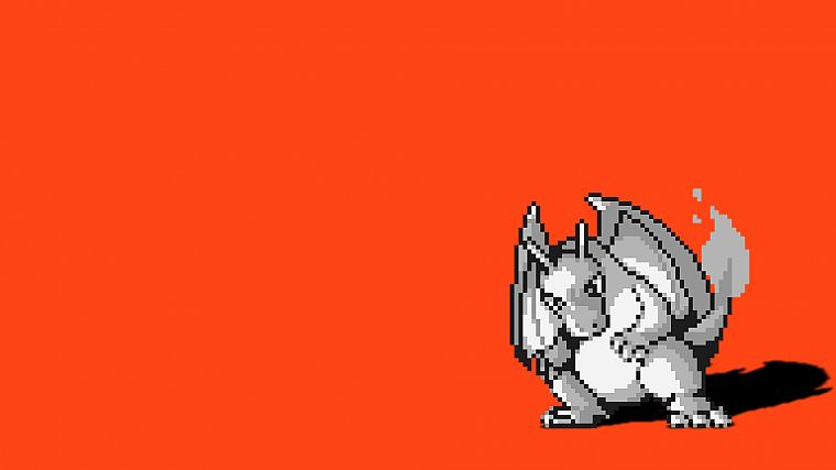 Pokemon, Charizard, simple background - desktop wallpaper