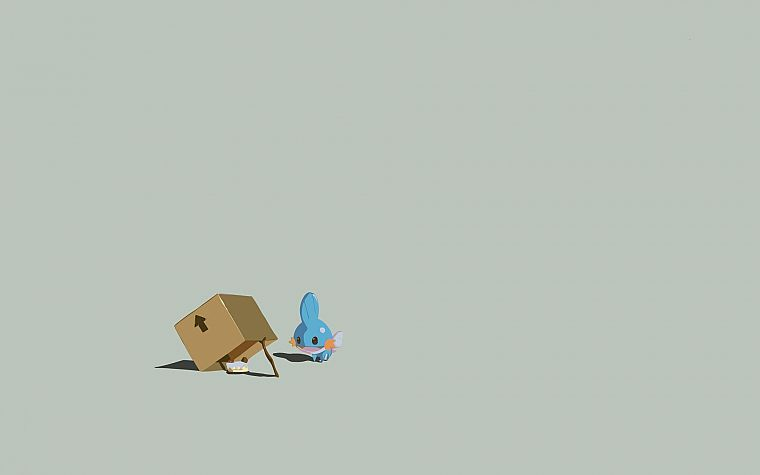 minimalistic, funny - desktop wallpaper