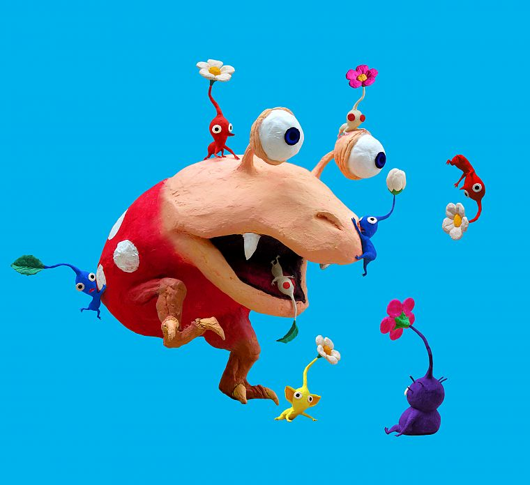 Pikmin - desktop wallpaper