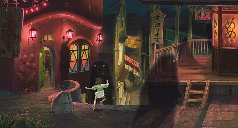 movies, studio, Spirited Away, Studio Ghibli - desktop wallpaper