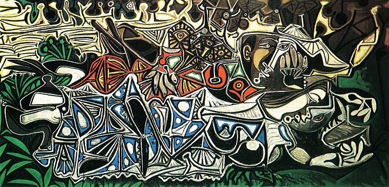abstract, paintings, Pablo Picasso - desktop wallpaper