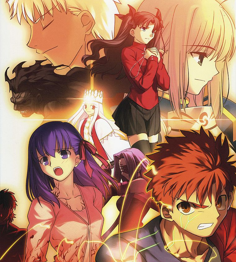 Fate Stay Night Tohsaka Rin Emiya Shirou Type Moon Saber