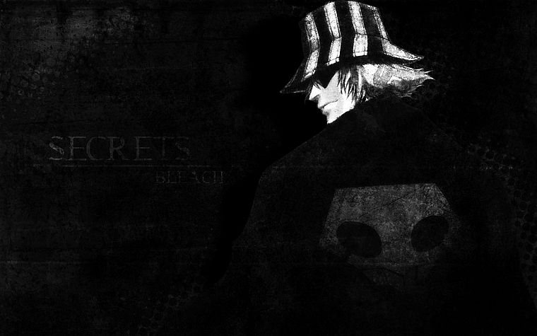 Bleach, Urahara Kisuke, secret - desktop wallpaper