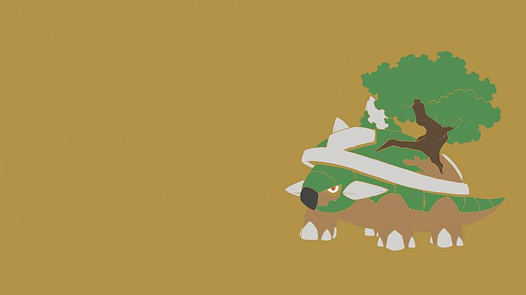 Pokemon, Torterra - desktop wallpaper
