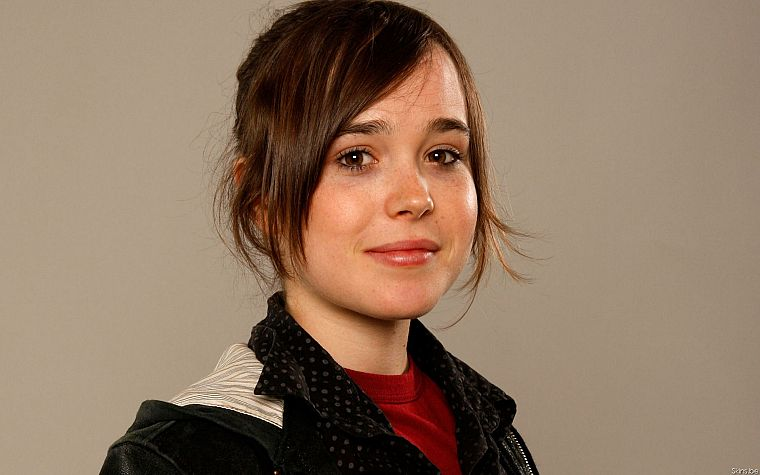 women, Ellen Page, actress - desktop wallpaper