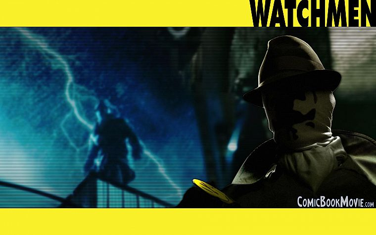 Watchmen, Rorschach - desktop wallpaper