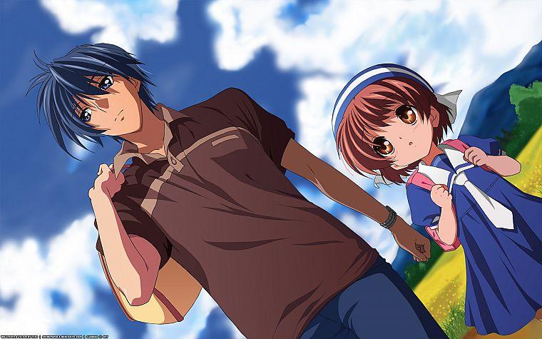 Clannad Clannad After Story Okazaki Ushio Okazaki Tomoya Free