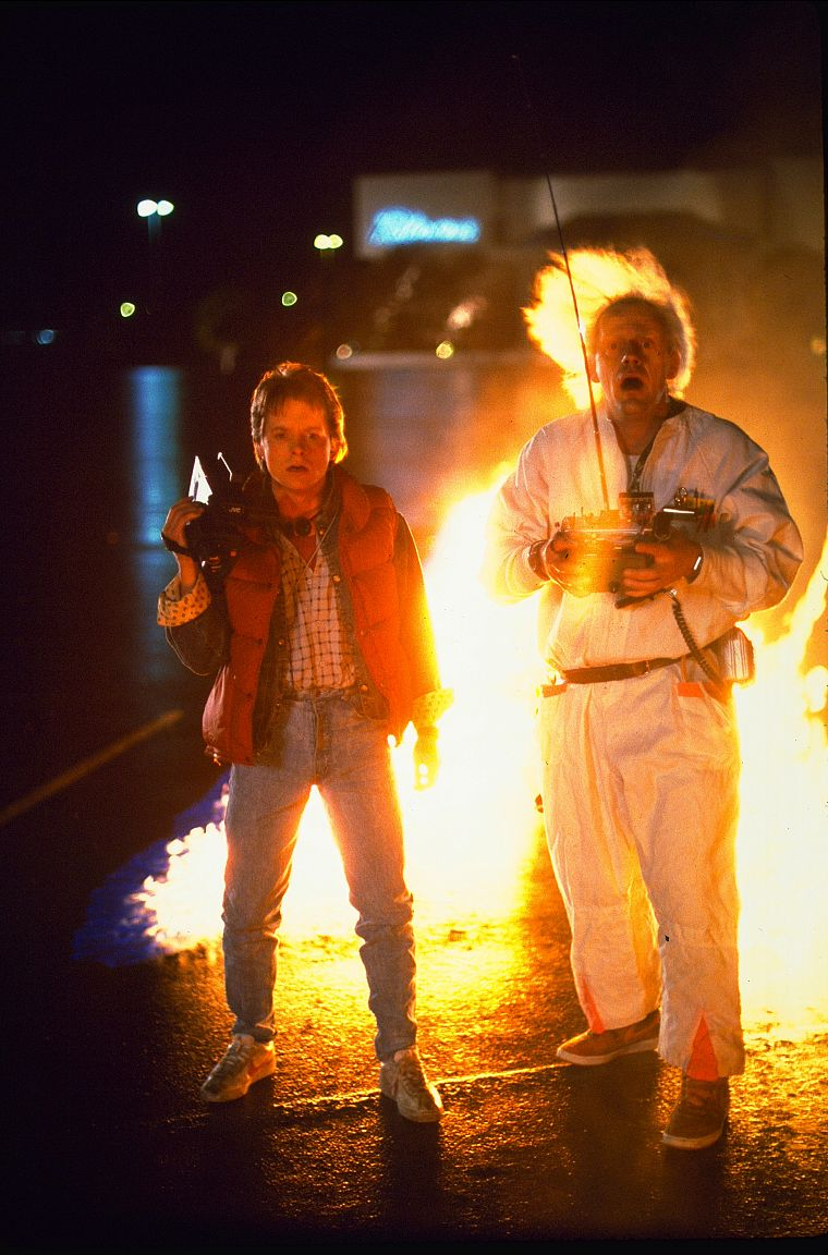 Back To The Future Michael J Fox Marty Mcfly Free Wallpaper