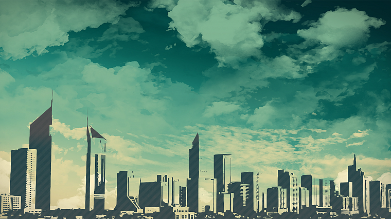 skylines, skyscrapers, skyscapes - desktop wallpaper