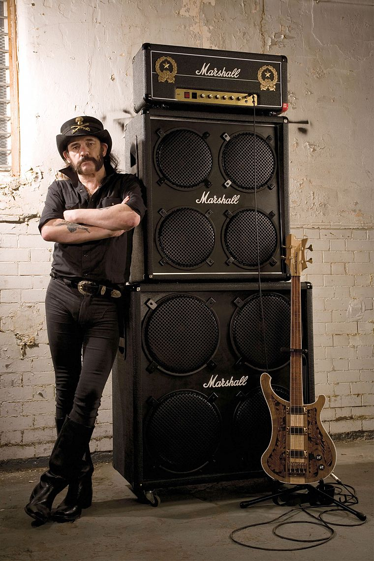 guitars, marshall, Lemmy - desktop wallpaper